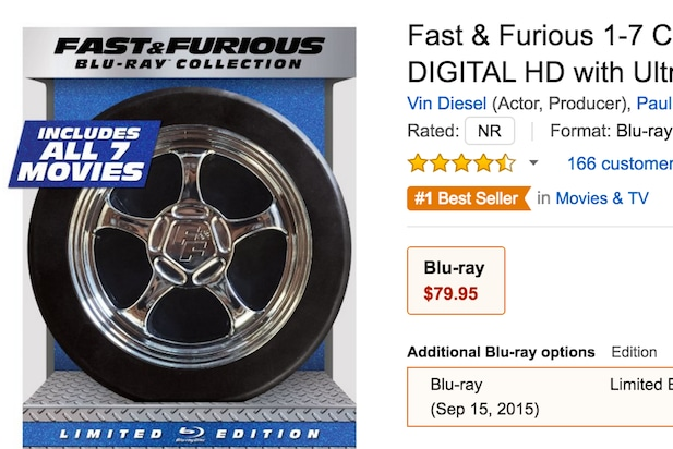 Fast and Furious Amazon