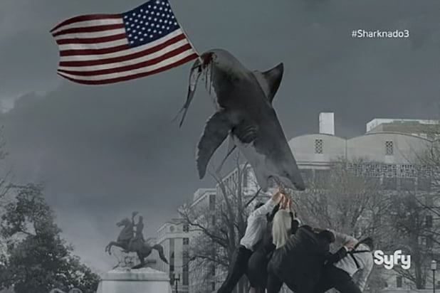 Sharknado 3 flag