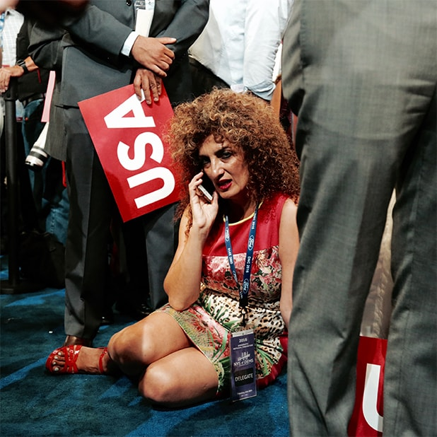 Democratic National Convention Sitting