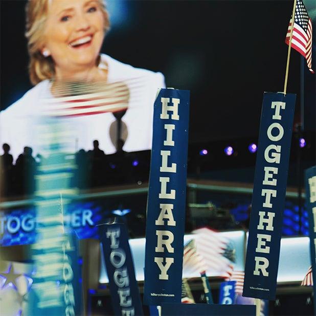 Democratic National Convention Crowd Speech