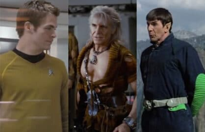 Star trek split
