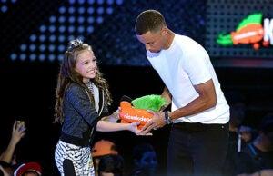 Stephen Curry Nickelodeon Kids' Choice Sports Awards 2016