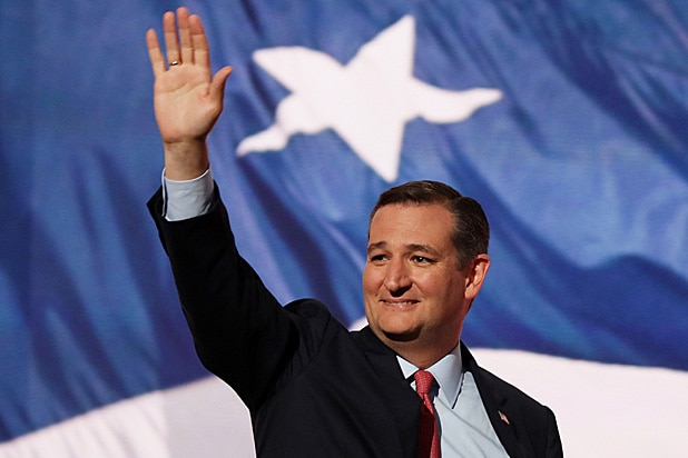 Ted Cruz Waving at RNC
