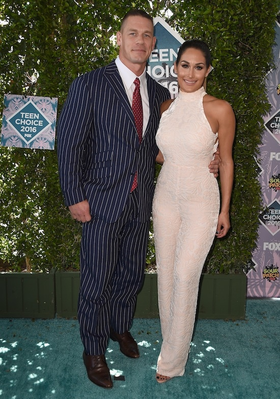Teen Choice Awards John Cena Nikki Bella