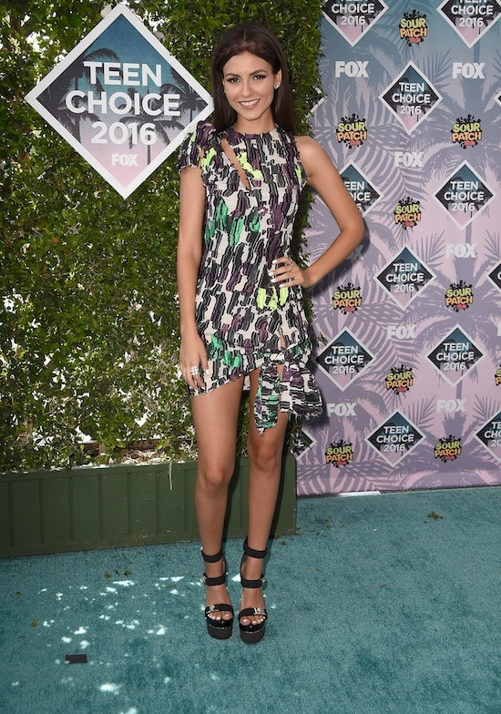Teen Choice Awards Victoria Justice