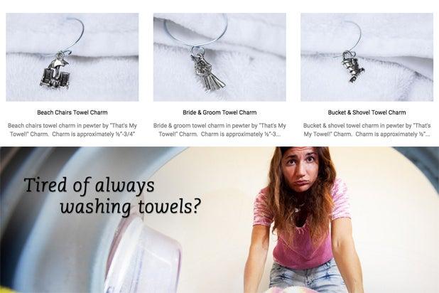 Karen Pence towel charms