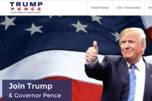 Trump-Pence new logo