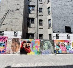2016 MTV VMA nominations mural