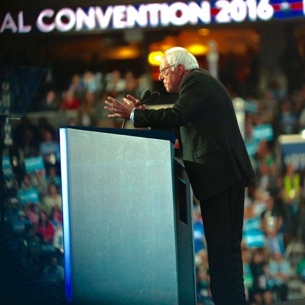 bernie sanders dnc democratic convention