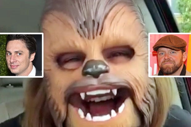 chewbacca mom zach braff joe carnahan