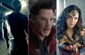 comic con walking dead doctor strange wonder woman
