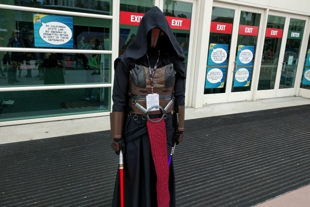 comic-con star wars revan