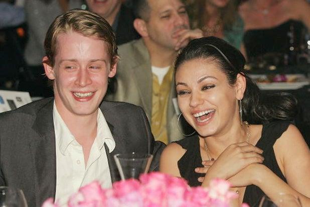 macaulay culkin mila kunis 2005