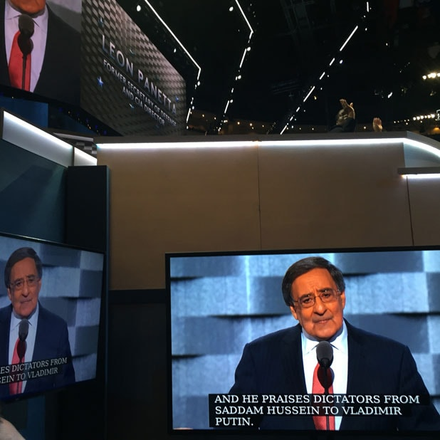 leon panetta dnc democratic convention