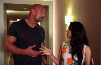 dwayne the rock johnson lilly singh superwoman youtube factory