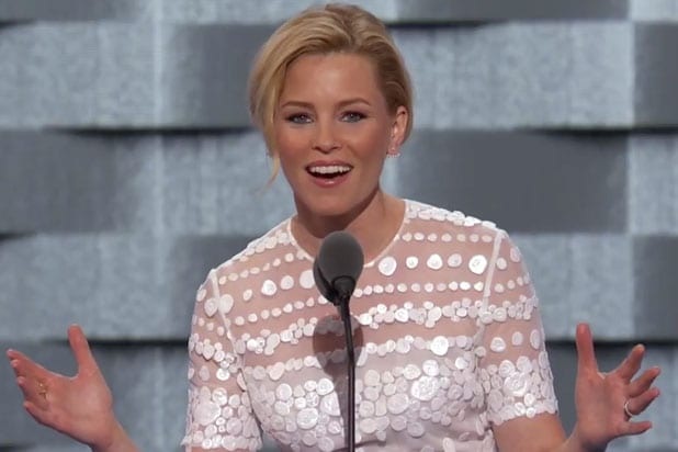 elizabeth banks democratic convention new england patriots super bowl 51