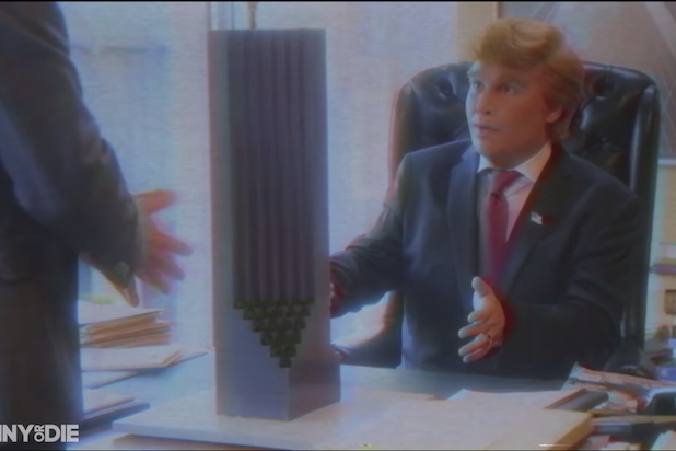 funny or die art of deal donald trump