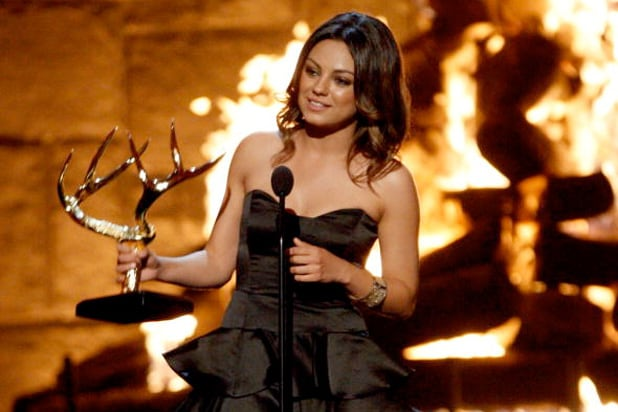 guys choice awards mila kunis