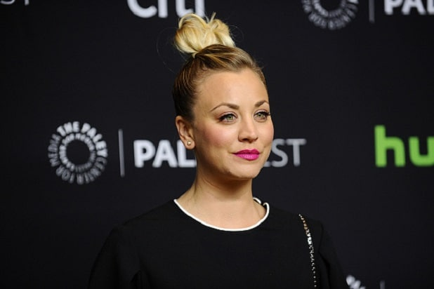Kaley Cuoco Tries to Find Booze During 'Big Bang Theory' Taping (Photo)