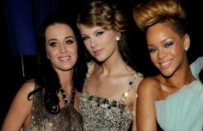 katy perry taylor swift rihanna