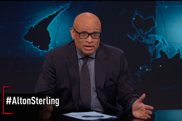 Larry Wilmore on Alton Sterling