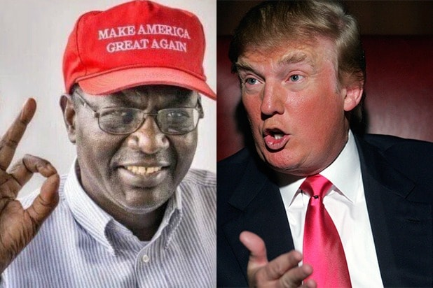 Image result for Obama's Brother, Malik Endorses Trump's Movement On Muslims Ban