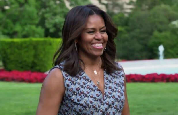 michelle Obama all in with cam newton