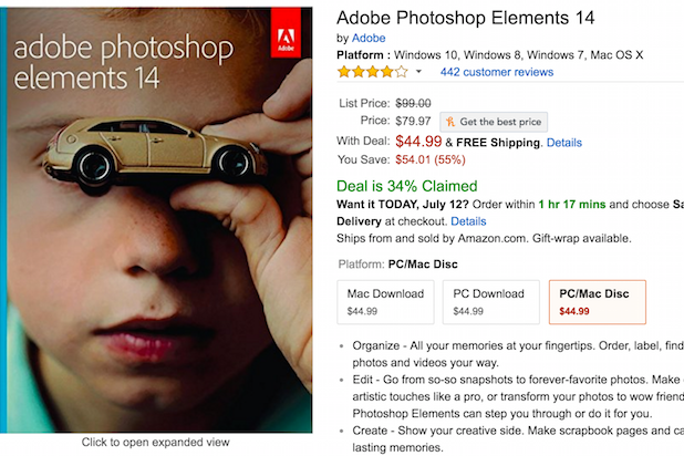 photoshop amazon