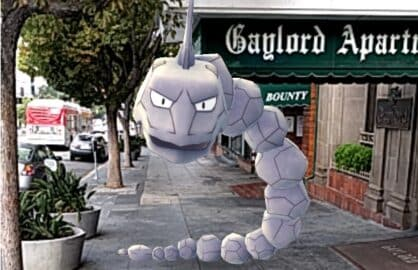 pokemon go gaylord apartments