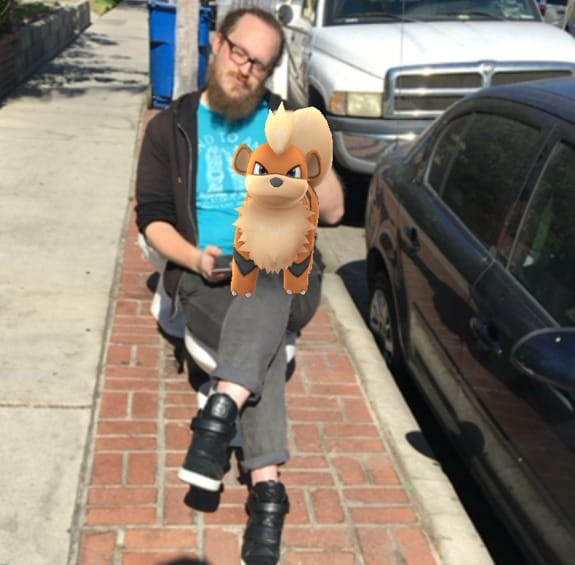pokemon go growlithe and me