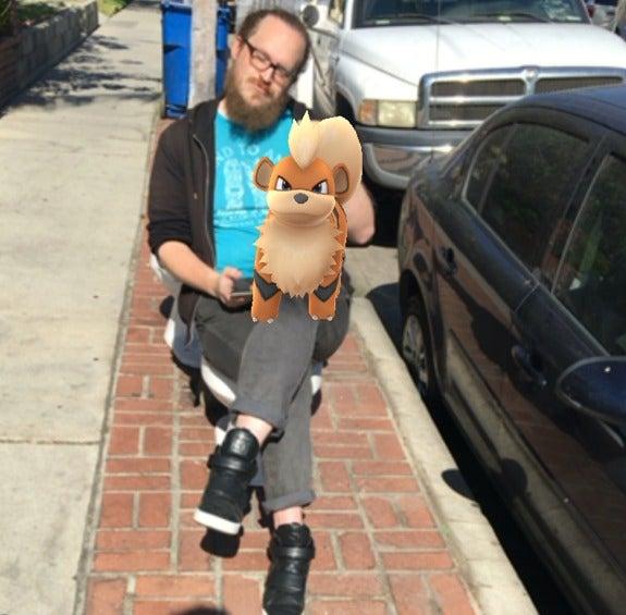 pokemon go growlithe and me