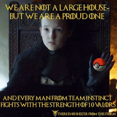 pokemon go memes game of thrones