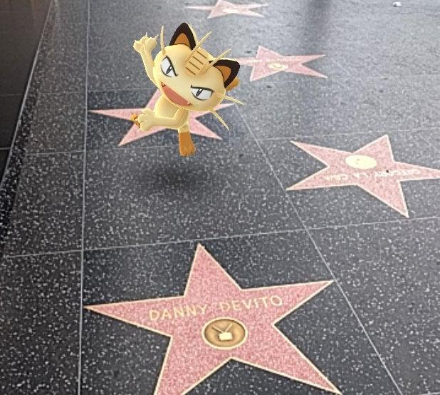 pokemon go meowth danny devito