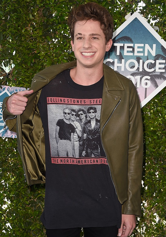 charlie puth teen choice