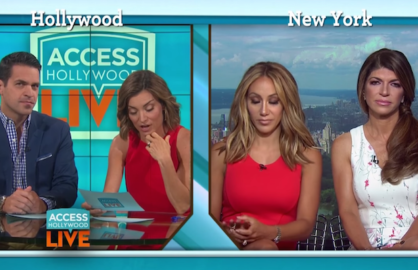 real housewives on access hollywood
