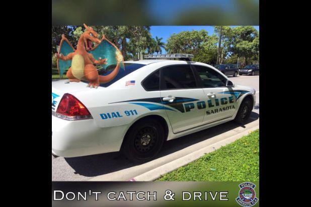 sarasota police meme pokemon go
