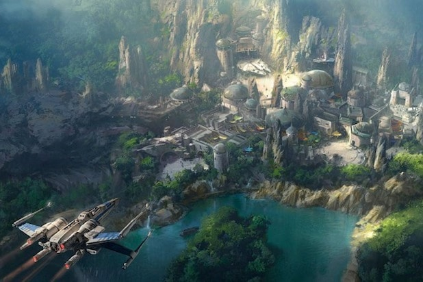 Sneak Peek at Disneyland's 'Star Wars' - themed land