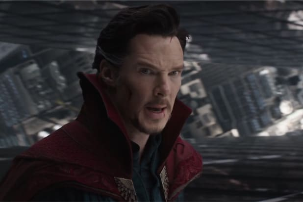 Benedict Cumberbatch is absolute magic in these new 'Doctor Strange' photos