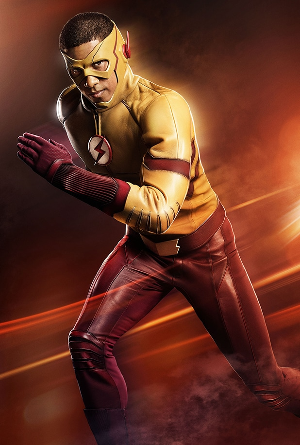 The Flash Kid Flash Keiynan Lonsdale