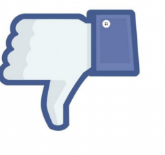facebook view inflation thumbs down