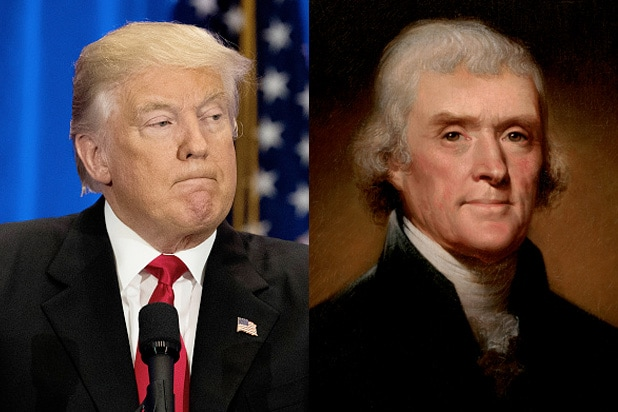 donald trump thomas jefferson