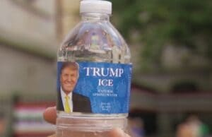 trump water democratic national convention