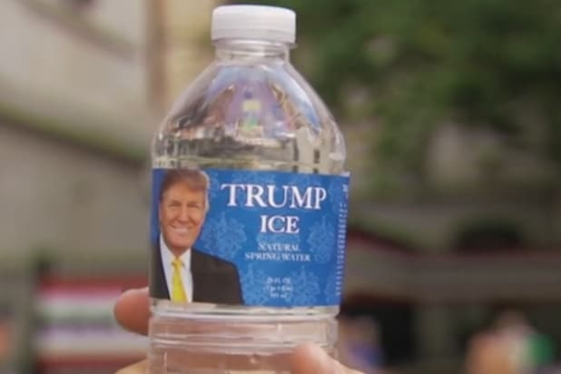 Snl Stars Hand Out Free Trump Water To Dnc Protestors