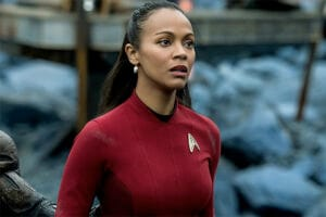Zoe Saldana Star Trek