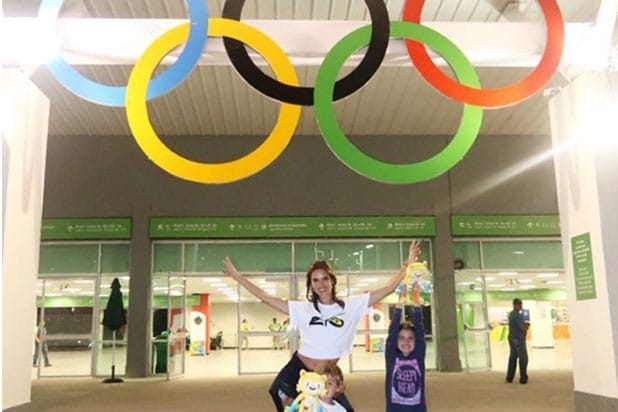 Alessandra Ambrosio Olympics