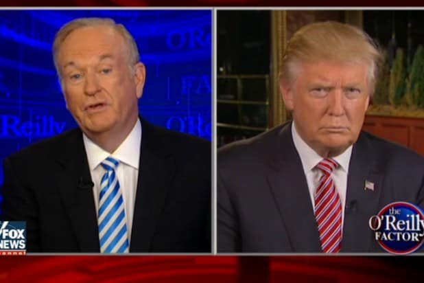 Bill OReilly Donald Trump sexual harassment timeline