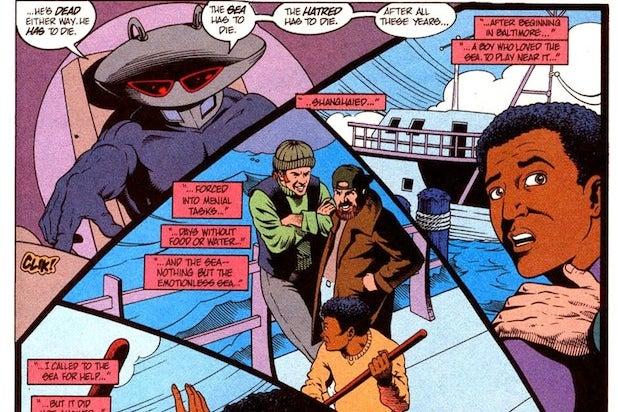 Black Manta 90s origins