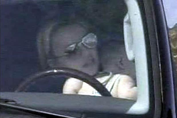 Britney Driving With Son