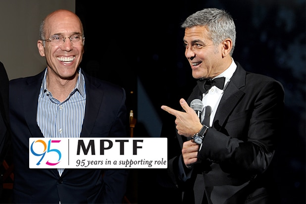 COVER - George Clooney Jeffrey Katzenberg MPTF 95th
