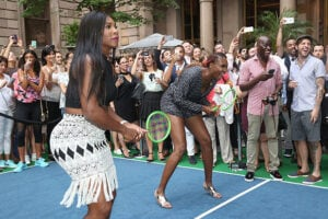 COVER - Serena Williams Venus Williams US Open